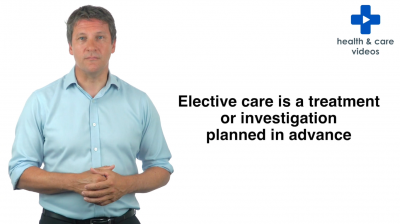What is the difference between elective and non-elective care? Thumbnail
