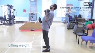 Lifting weight Thumbnail
