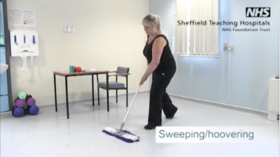 Sweeping/hoovering Thumbnail