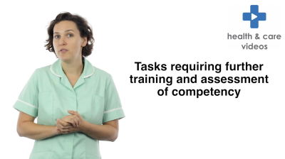 Task requiring further training and assessment of competency Thumbnail