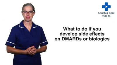 What to do if you develop side effects on DMARDs or biologics Thumbnail