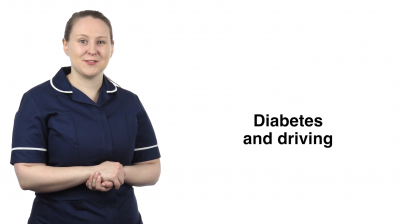 Diabetes and driving Thumbnail
