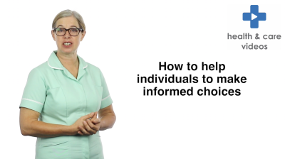 How to help individuals to make informed choices Thumbnail