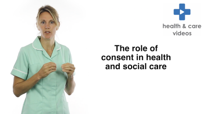 The role of consent in health and social care Thumbnail