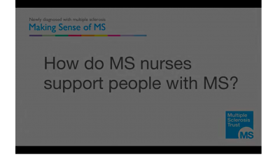 How do MS nurses support people with multiple sclerosis? Thumbnail