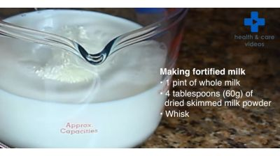 How to use fortified milk to avoid malnutrition Thumbnail