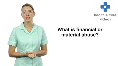 What is financial or material abuse Thumbnail