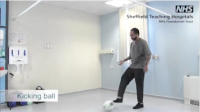 Kicking a ball Thumbnail