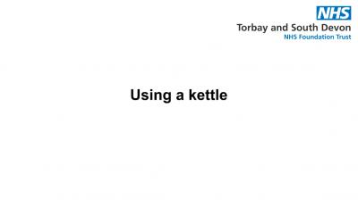 Using a kettle Thumbnail
