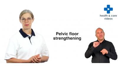 Pelvic floor strengthening (BSL) Thumbnail