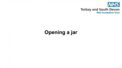 Opening a jar Thumbnail