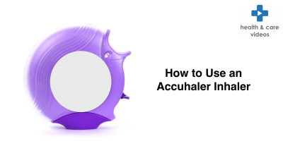 How to use an Accuhaler inhaler Thumbnail