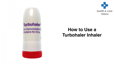 How to use a Turbohaler inhaler Thumbnail