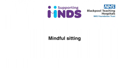 Session 2 Mindful sitting Thumbnail