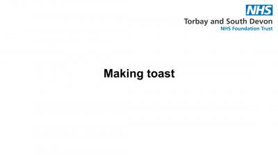 Making toast Thumbnail