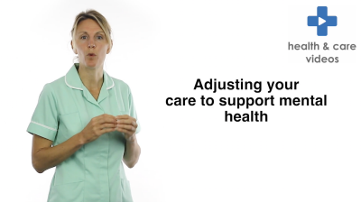 Adjusting your care to support mental health Thumbnail