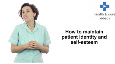How to maintain patient identity and self esteem Thumbnail