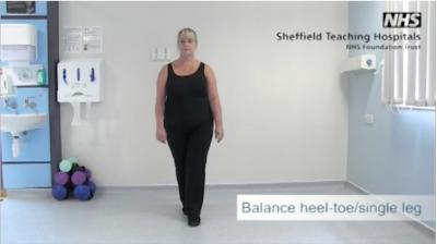 Balance heel to toe/single leg Thumbnail