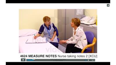 Measure Notes - Nurse taking notes 2 Thumbnail