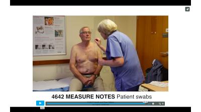 Measure Notes - Patient swabs Thumbnail