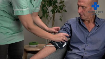 Measuring blood pressure Thumbnail