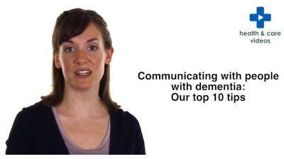 Communicating with people with Dementia: Our top ten tips Thumbnail