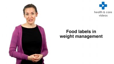 Food labels in weight management Thumbnail