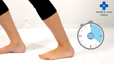 Exercises to stretch tight Gastrocnemius muscles Thumbnail