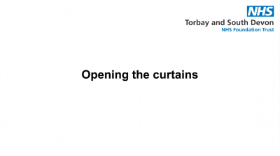Opening the curtains Thumbnail