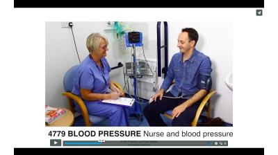 Blood Pressure - Nurse and blood pressure Thumbnail