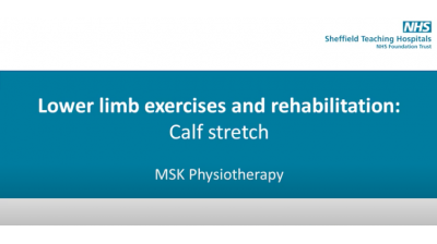 Calf Stretch Thumbnail