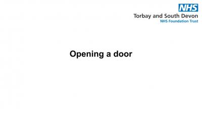 Opening a door Thumbnail
