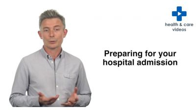 Preparing for your hospital admission Thumbnail