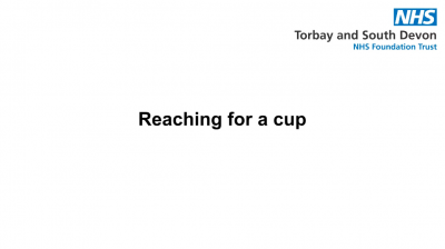 Reaching for a cup Thumbnail