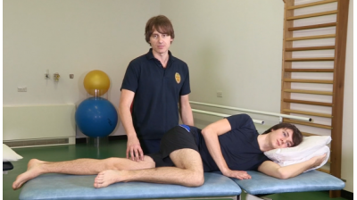 Adductor raises in side lying Thumbnail