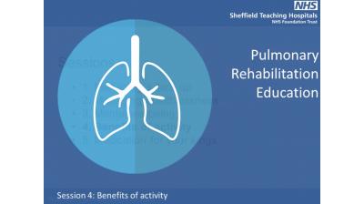 Session 4 Pulmonary rehabilitation Benefits of Physical Acitvity Thumbnail