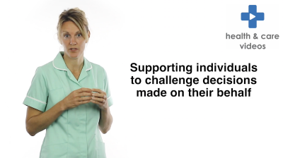 Supporting individuals to challenge decisions made on their behalf Thumbnail