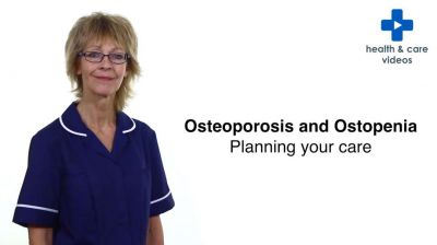 Osteoporosis and Osteopenia Planning your care Thumbnail