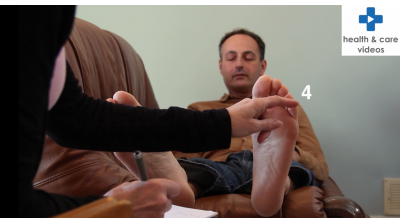 How to carry out a 'Touch the Toes' test for Patients and Carers Thumbnail