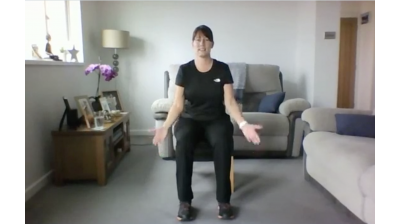 Facebook Live - Chair Based Exercise with Elaine Thumbnail