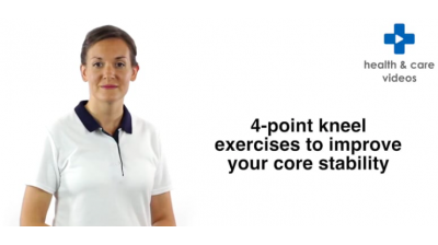 4-point kneel exercises to improve your core stability Thumbnail