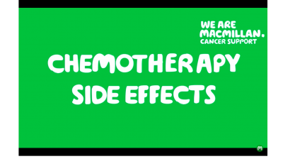 Chemotherapy side effects (British Sign Language) Thumbnail