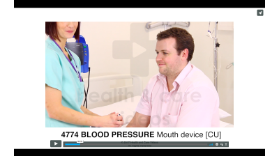 Blood Pressure - Mouth Device Thumbnail