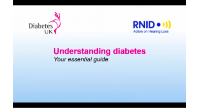 Understanding diabetes - with subtitle and British Sign Language Thumbnail