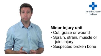 What is a Minor Injury Unit Thumbnail