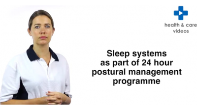 Sleep systems as part of a 24 hour postural management programme Thumbnail