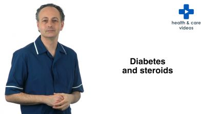 Diabetes and steroids Thumbnail