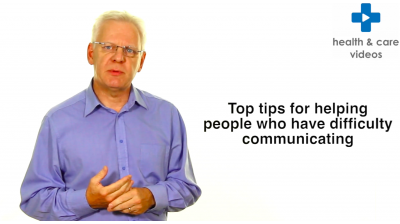 Top tips for helping people who have difficulty communicating Thumbnail