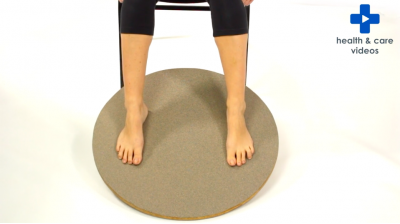 Using balance boards to strengthen lower limb muscles Thumbnail