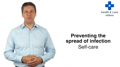 Preventing the spread of infection - Self care Thumbnail